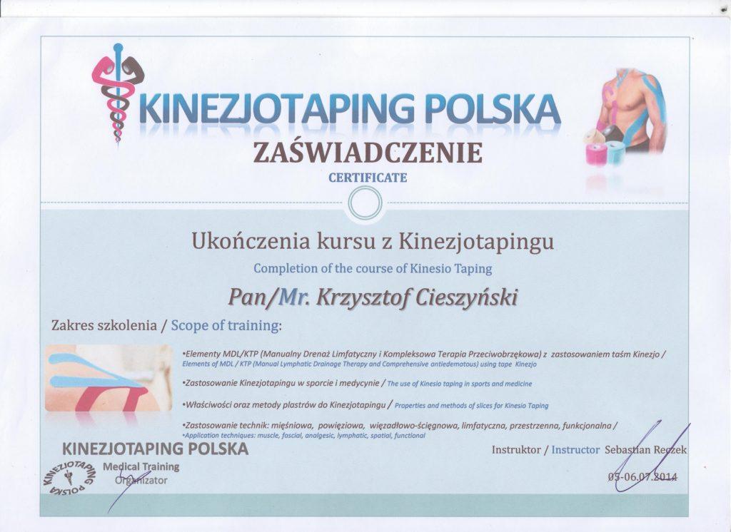 Kinezjotaping Polska